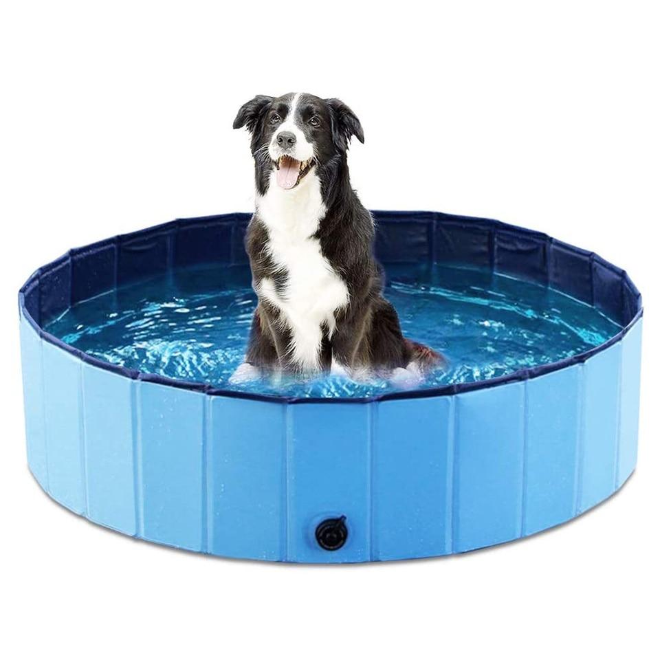 Foldable Dog Bath Pool Pet Pool Bathing Tub Garden Swimming Pool Pet Kids Summer Bathing Tub Collapsible Bathtub For Dog Cat Pet Aliexpress