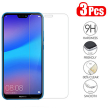 3-1Pcs/lot Full Tempered Glass For Huawei P20 Lite Screen Protector Glass For