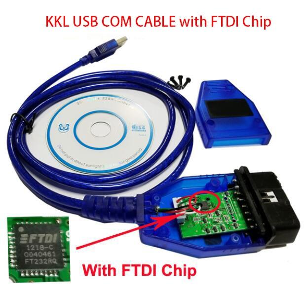 Кабель для Автосканера kkl 409,1 с автоматическим диагностическим интерфейсом FTDI для Audi Seat Volkswagen Skoda KKL 409