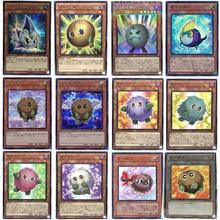 Yu-Gi-Oh Japanese Chestnut Ball NPR/SER/SR/CR Cards Hobby Collection Card Ball/Rainbow/Ribbon/Scrap Chestnut Card Series