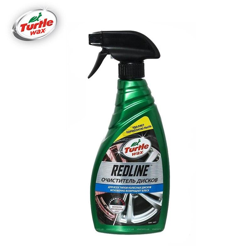 «Очиститель колесных дисков» REDLINE WHEEL CLEANER 500 мл Turtle Wax FG7697 52885