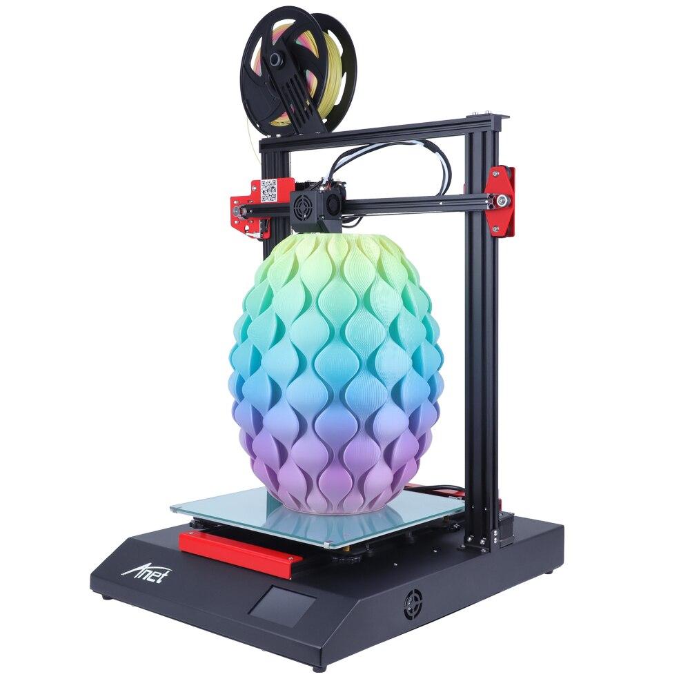 Bilgisayar ve Ofis'ten 3D Yazıcılar'de Yeni Anet ET5 ET4 X ET4 3D yazıcı yüksek hassasiyetli Impresora 3D tüm Metal DIY kiti Imprimante 3D yazıcı Anet fabrika mağaza title=