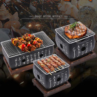 Japanese Korean Barbecue Grill Food Carbon Furnace Barbecue Stove Cooking Oven Alcohol Grill Household BBQ Tools