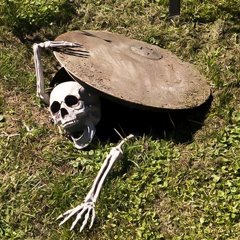 DIY Украшение для сада и Хэллоуина, украшение для дома ужасов, черепа, скелета, лапы, Bad omens, украшение для дома с привидениями, пугающий детский Декор для Хэллоуина Украшения своими руками для вечеринки      АлиЭкспресс