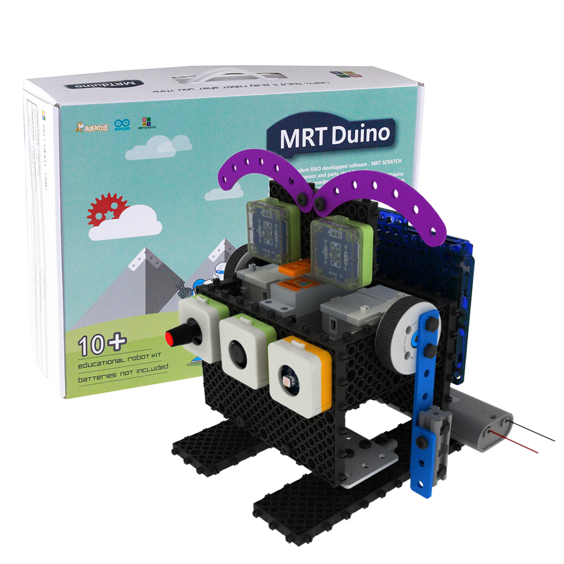 My Robot Time MRT-Duino 1 Robots Building Block Kit Assembly Programmable Educational Robot Toy For 12-15 Years Old