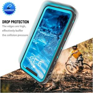 Image 4 - IP68 Waterproof Phone Case For iPhone  12 11 Pro Max X XR XS MAX Clear Silicone Shell for Apple SE 8 7 6S Plus Shockproof Cover
