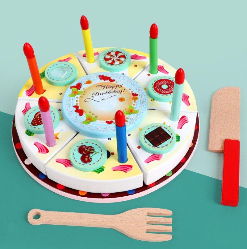 fingir jogar corte bolo jogar comida crianças