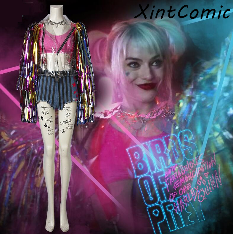 Birds Of Prey Cosplay Suicide Squad Batman Harley Quinn Costume Fancy Halloween Costumes For Adult Women Sexy Custom Sets Buy At The Price Of 129 97 In Aliexpress Com Imall Com