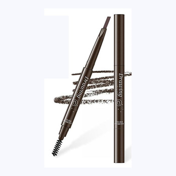 Waterproof Eyebrow Pen Fork Tip  Tattoo Dye Tint Pen Liner Long Lasting Professional Fine Sketch Liquid Eye Brow Pencil TSLM1