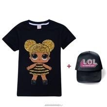 Shirt Toddler Boys 8 Girl Fashion Tops SURPRISE Teenage L.O.L. Funny Kids