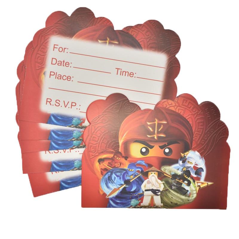 Birthday Party Supplies. 20 pcs Mickey Invitation Cards Mickey Themed Party Supplies
