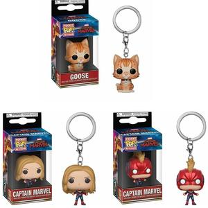 Funko POP captain keychain toys U.S.A captain with box