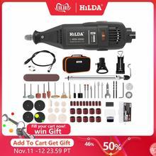 Hilda broca elétrica dremel moedor gravador caneta mini broca elétrica ferramenta rotativa máquina de moer dremel acessórios