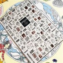 Женская абстрактная 3d наклейка на заднюю панель