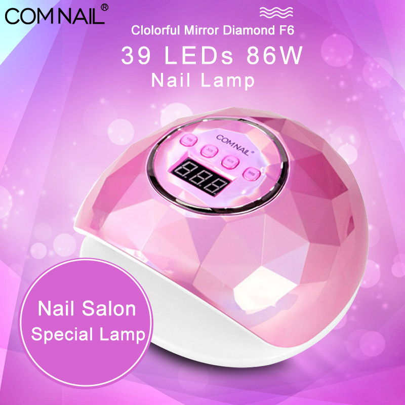 86W LED Nail Lamp with 39 Pcs Leds UV Lamp Manicure Machine Nail Dryer Drying Nail Gel Polish Lamp Auto Sensor Manicure Tools image