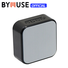 BYMUSE A70 Portable Mini Bluetooth Speaker Wireless Outdoor Home Stereo Music Surround Support Speaker TF AUX USB Easy Carry аудио колонка bluetooth sruppor tf bluetooth speaker