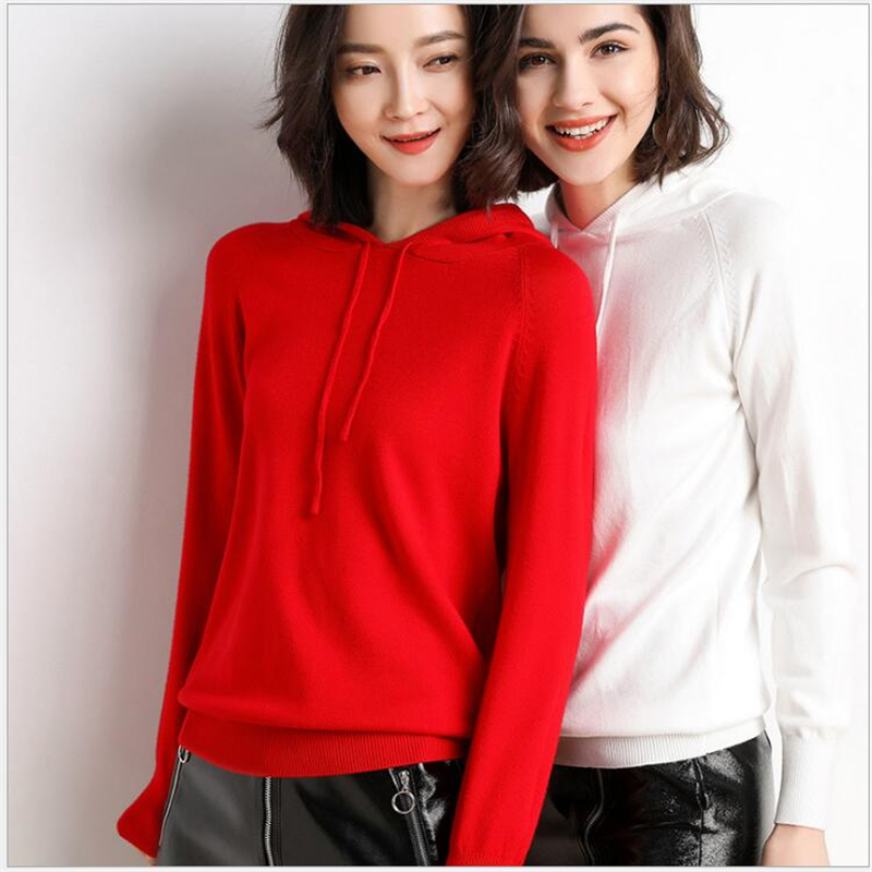 2019 Autumn Winter Loose Women Sweater Knitted Tops Women's Pullover Plus Size 3XL Sweater Solid Sweater Tops Fashion S101