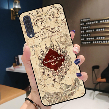 Harry Potter Phone Case for Samsung A Series Marauder's Map 7