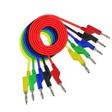 """1 пара разъем типа """"банан"""" мультиметр тестовый зонд провод Функция кабеля мультиметр с разъемом Banana штекер провода"""
