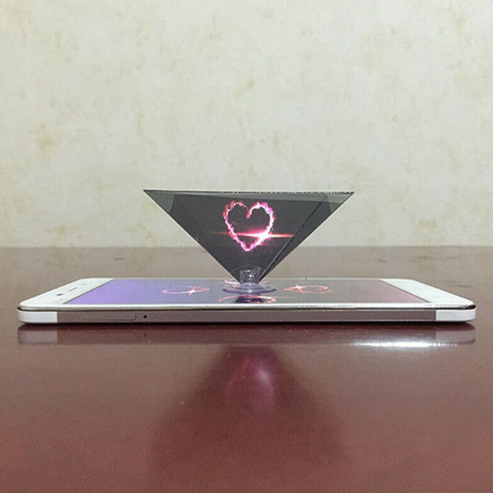 Smartphone Hologram Advertise 3D Holo Box Holographic Type Phone Display Showcase Tablet Box Mobile Pyramid N5D2|Phone Holders & Stands|   - AliExpress