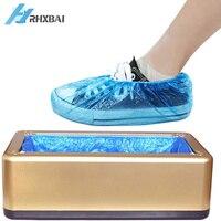 Automatische Einweg Schuh Abdeckungen Anti-slip Überschuhe Maschine Hände-Freies Wasserdichte Stiefel Tragbare Fuß Abdeckung für Home und shop