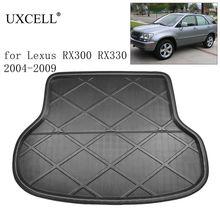 UXCELL PE + EVA 폼 플라스틱 후면 자동차 트렁크 부팅 라이너화물 매트 바닥 트레이 커버 패드 렉서스 RX300 RX330 RX270 RX350 2004 2015