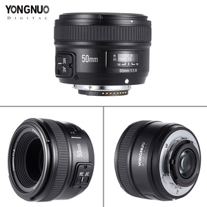 Image 3 - IN STOCK! YONGNUO YN 50mm f1.8 AF Lens YN50mm Aperture Auto Focus Large Aperture for Nikon DSLR Camera D800 D300 D700 Lens