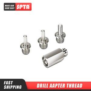 Image 1 - SPTA Auto Polierer Adapter M14, M16, 5/8, 5/16 24 gewinde Aluminium Legierung Adapter für Rotary Polierer oder Elektrische Bohrer