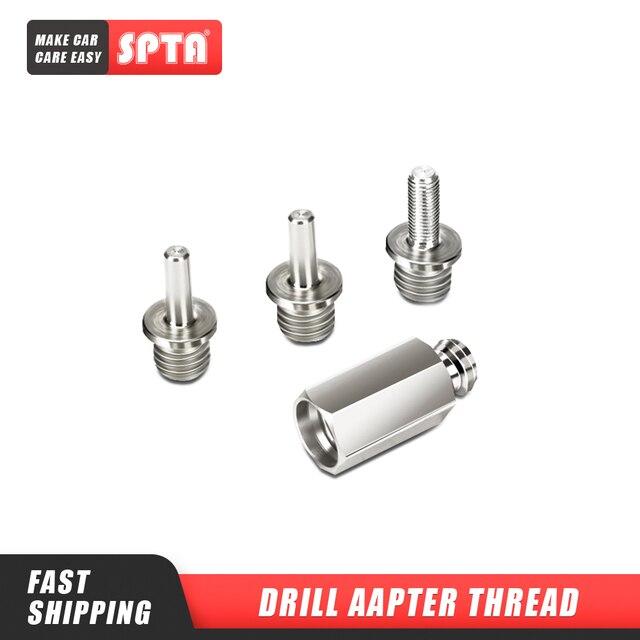 SPTA Auto Polierer Adapter M14, M16, 5/8, 5/16 24 gewinde Aluminium Legierung Adapter für Rotary Polierer oder Elektrische Bohrer