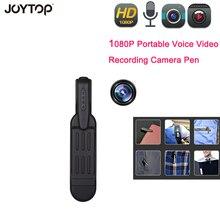 Mini kalem kamera Full HD 1080P kızılötesi gece görüş araba Mini DVR cep klip kamera ses Video kayıt mikro kamera