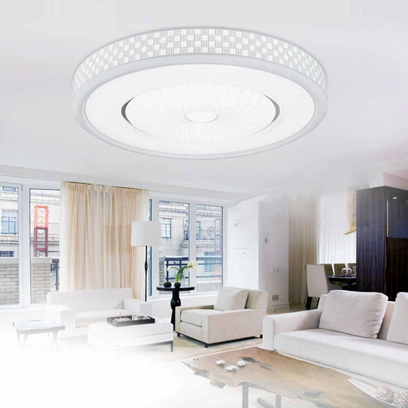 Светодиодный светильник 30 см, светодиодный потолочный светильник 12 Вт, потолочный светильник, поверхностный монтаж, AC 85-265 в, современная лампа для домашнего освещения