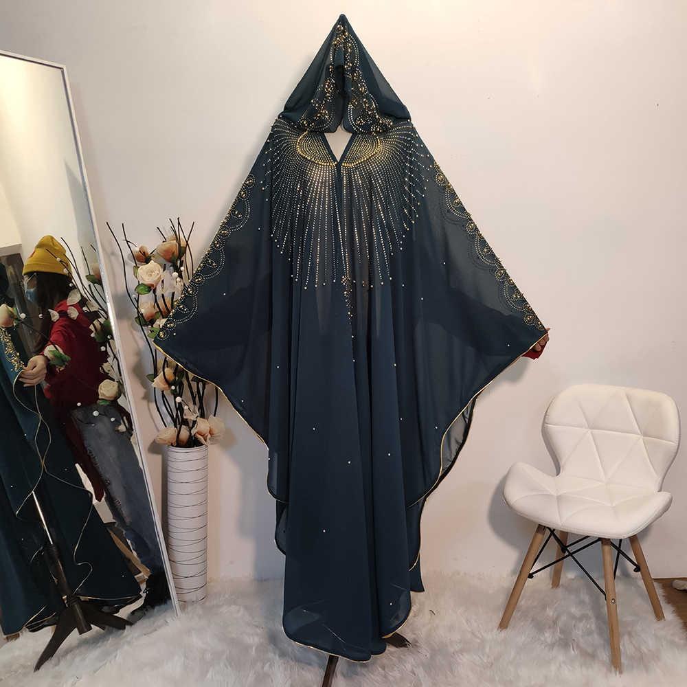 이드 무바라크 두바이 Abaya 기모노 이슬람 Hijab 드레스 Kaftan Abayas 이슬람 의류 라마단 가운 여성을위한 아프리카 드레스 Caftan