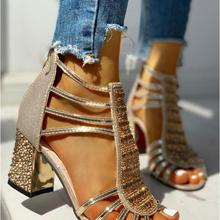 New Woman Sandals Shoes Sandalias Mujer 2020 Summer Style We
