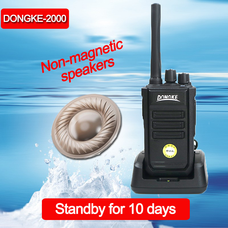 DONGKE 2000 Antimagnetic Walkie Talkie With Larger Battery And Clearer Voice Long Range Two Way Radio Profession Walkie-talkie