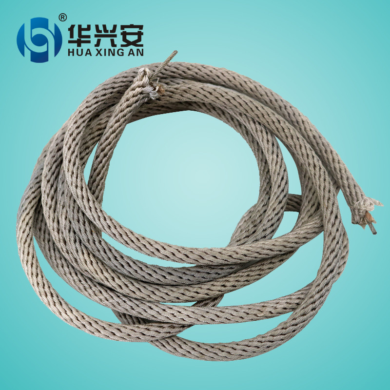 Anti-Fire Wearable High-temperature Resistant High-rise Escape Self-Help Lanyard High Altitude Homework Lanyard Amusement Cage B