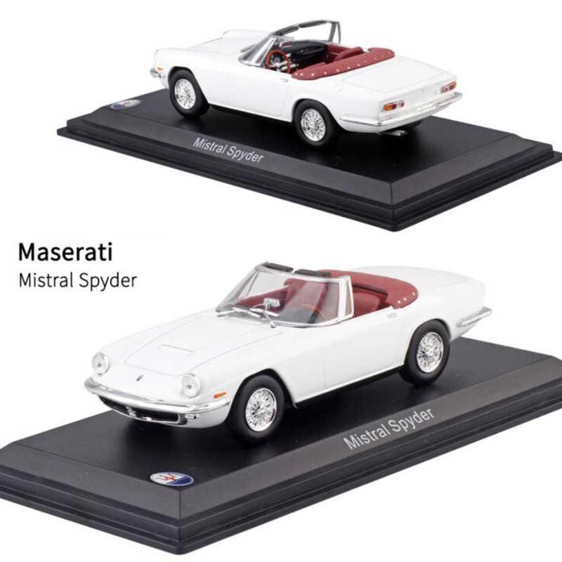 1:43 Skala Diecast Alloy Klasik Maserati Balap Reli Mobil Model Logam Kendaraan Mainan untuk Orang Dewasa Koleksi Acara Display Anak-anak Hadiah