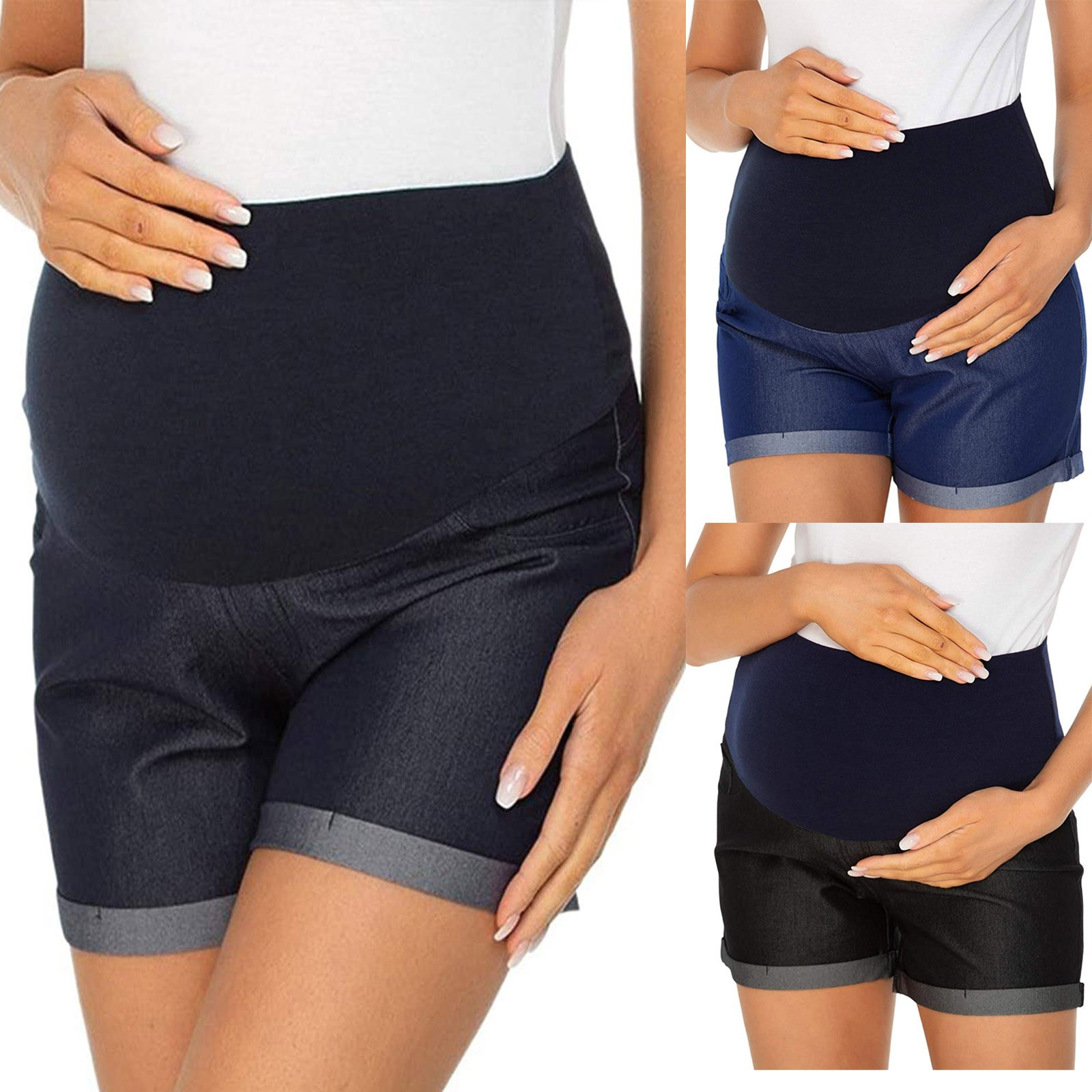 Maternity Short Summer Jeans Pregnant Denim Jean Mommy Clothing Pregnancy Jeans Maternity clothes Pregnancy Shorts джинсы