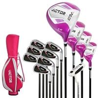 Golf Clubs Golf Clubs Women's Beginner Complete Set of 12 Golf Practice Clubs LTG007