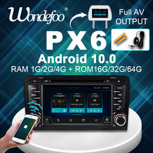 PX5 PX6 Android 10 8CORE GPS del DVD DELL'AUTOMOBILE Per Audi A3 8P 2003-2012 S3 2006-2012 RS3 Sportback 2011 lettore multimediale radio DSP 4G 64G(China)