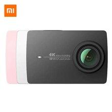 Xiaomi YI 4 K Экшн-камера Ambarella A9SE75 спортивная водонепроницаемая камера ARM 12MP CMOS 2.19in стабилизация изображения Wifi умная Спортивная камера экшн камера xiaomi экшн камера