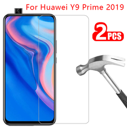 Szkło ochronne dla huawei y9 prime 2019 screen protector szkło hartowane na y 9 9y y9prime folia ochronna huawei huawei huawey huawi