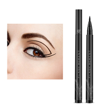Professional Waterproof Eyeliner Fine Deep Black Soft Smooth Pen Non-blooming