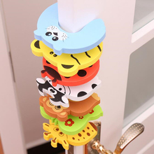 Door-Stopper Finger-Protector Card-Lock Baby-Safety Security Child 7pcs/Lot Newborn-Care