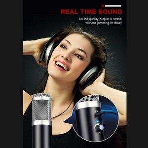 Image 5 - Micro à condensateur USB GGMM F1 pour ordinateurs portables Mac enregistrement en Studio cardioïde en Streaming voix vocale sur karaoké Youtube etc.