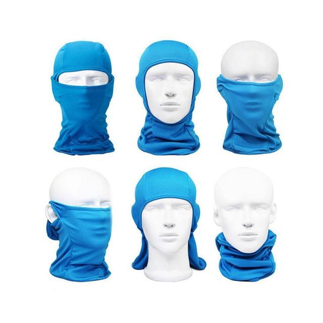 1 Pcs Motorcycle headgear masks Balaclava scarf Full sun and dust mask Full head scarf bicycle mask Outdoor headdress 2