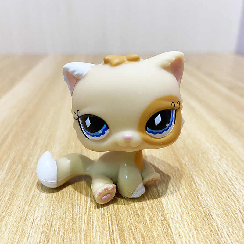 lps old pet shop cute toys mini short hair kitten HIMALAYAN kitty husky dog spaniel collie great dane rare figure collection