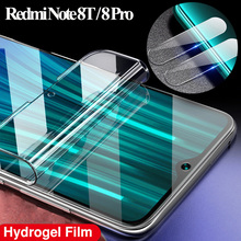 100D Glass For xiomy redmy note8 pro Screen Protector xiaomi redmi note 8 pro 8 T Hydrogel Film xiomi redmi note 8 t Soft Glass