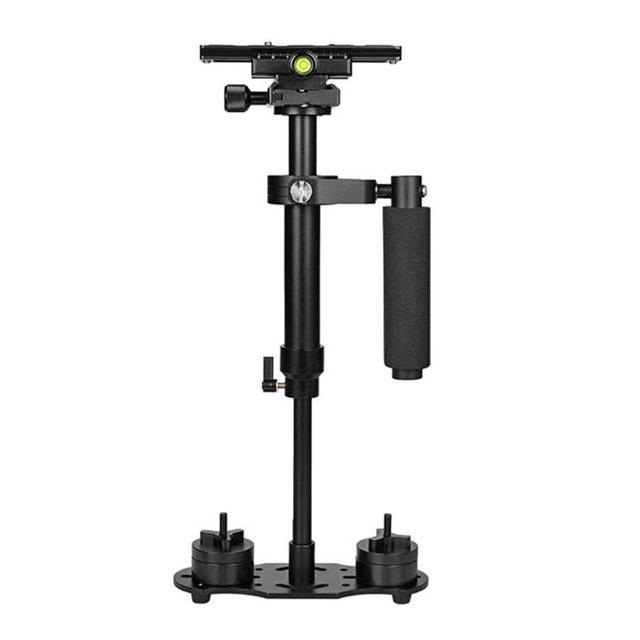 S60 mini estabilizador de mão, para câmera de vídeo, anti balanço, steady, para dslr, acessórios para câmera de fotografia, estabilizadores, adereço de câmera