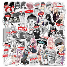 Pinup Decal Stickers Laptop Bunny Girl Waterproof Sexy Waifu Suitcase for Car Truck Wholesale