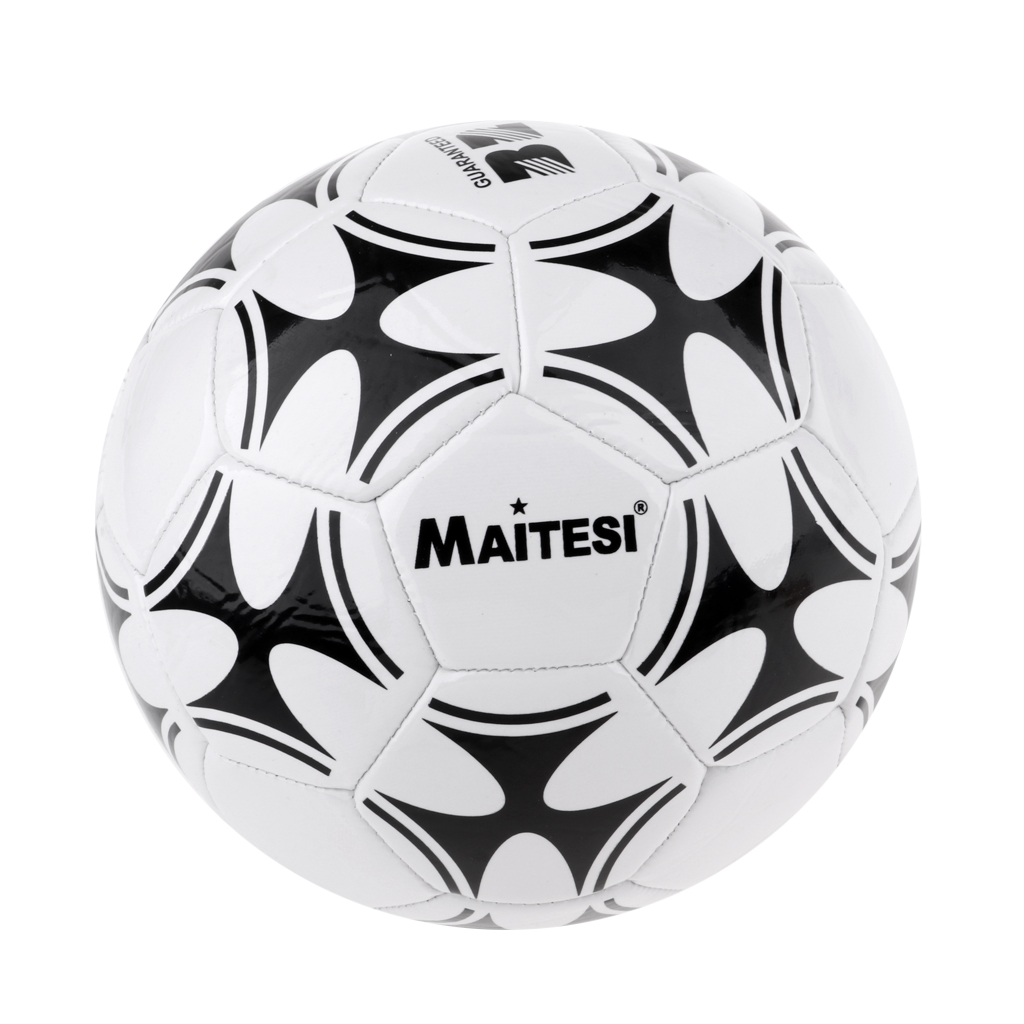 Football Soccer Ball 3 Standard Training with Net Needle for Indoor Outdoor
